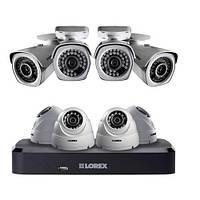 Комплект видеонаблюдения с 8-ю IP-камера 1080p Lorex, 8–канальный регистратор NVR