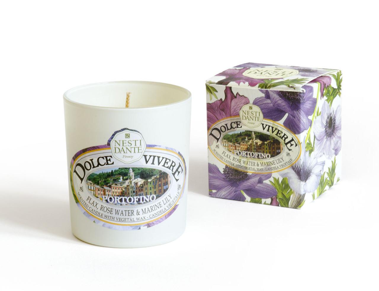Ароматична свічка Nesti Dante Dolce Vivere Portofino candle Портофіно 160г