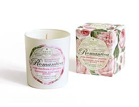 Свеча ароматическая Nesti Dante Romantica Florentine Rose and Peony Роза и Пион 160г