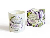 Свеча ароматическая Nesti Dante Romantica Tuscan lavender & Verbena Тосканская Лаванда и Вербена 160г