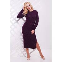 Вязаные зимние платья N7037-5