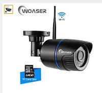 1.0MP WI-FI IP Камера Видеонаблюдения HD 720 P ночное видение, SD карта до 64гб, сигнализация оповещение