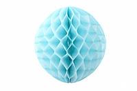 Бумажный шар соты бирюзовый, 25 см