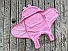 Универсальный махровый спальник, розовый, 0-6 мес.