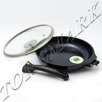 Сковорода Maestro MR-4420, съемная ручка + крышка