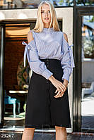 Классическая юбка-трапеция Gepur 23267