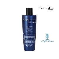 Fanola Keraterm Шампунь для ослабленных волос с маслом ши, макадамии и кератином ,300 мл  Фанола