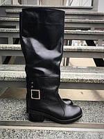 Женские сапоги кожаные зимние высокие от производителя ЮС-4
