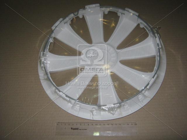 Колпак колесный R13 RST белый 1шт.  (арт. DK-R13RW)