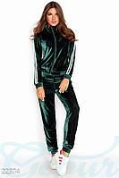 Велюровый брючный костюм Gepur 22374