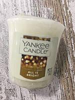 "Свеча ароматическая Yankee Candle ""Огни"""