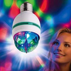 Светодиодная Диско лампа LED вращающаяся