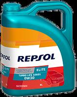 Масло Repsol Elite Turbo Life 506.01 0W-30 ACEA A5/B5-04 1л синтетическое  RP135V51