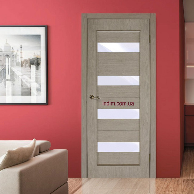 Двери межкомнатные покрытие экошпон