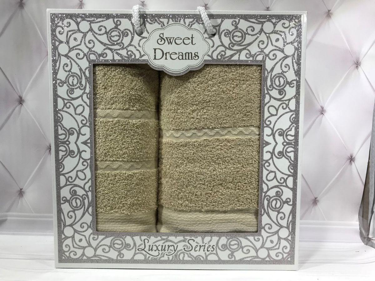Подарочный набор полотенец Sweet Dreams (баня+лицо) № 32535