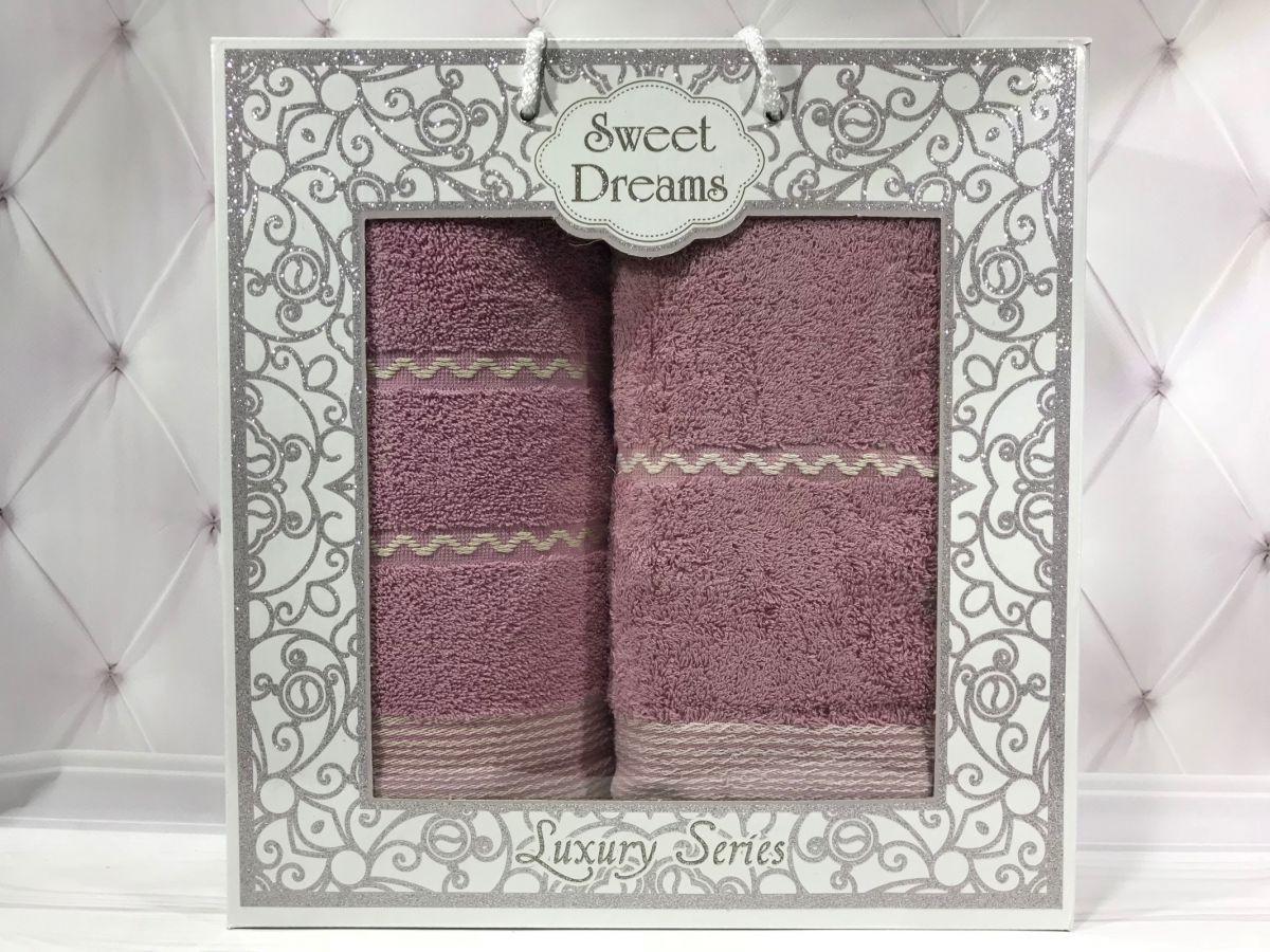 Подарочный набор полотенец Sweet Dreams (баня+лицо) № 32536