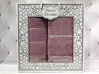 Подарочный набор полотенец Sweet Dreams (баня+лицо) № 32536, фото 1