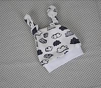 Шапочка-колпачок, облака белые 0-3, 3-6