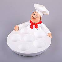 """Блюдо для яиц """"Шеф-Повар"""", 24Х18Х14.5 см"""