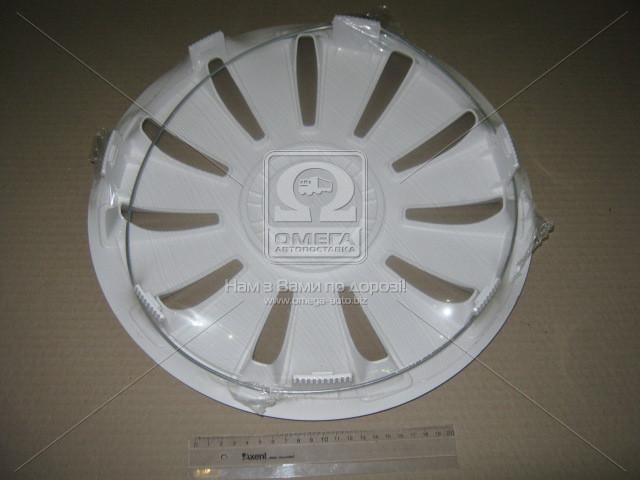 Колпак колесный R14 REX белый 1шт.  (арт. DK-R14RW)