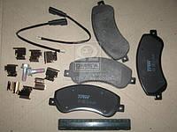 Колодка тормозной FORD TRANSIT передний (Производство TRW) GDB1724