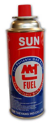 Газовый баллон Sun цанговый,бутановый, фото 2