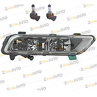 Противотуманка правая для авто с стационарным адаптивным освещением R-Line H8 H8 VW PASSAT B7 Фольксваген