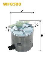 Фильтр топливный WF8390/980/5 (производство WIX-Filtron) (арт. WF8390), ADHZX