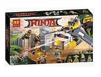 Конструктор Bela Ниндзяго Бомбардировщик Морской дьявол (аналог Lego Ninjago Movie 70609)