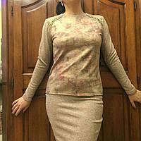 Костюм молодежный - кофточка и юбка, S,M,L р-ры, 340/310 (цена за 1 шт.+ 30 гр)