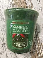 """Аромасвеча """"Рождественcкое настроение"""" Yankee Candle"""