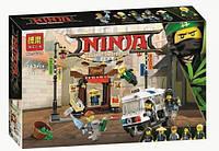 """Конструктор Ninjago Movie Bela 10714 """"Ограбление киоска в Ниндзяго Сити"""" 264 дет"""