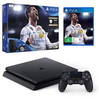 Игровая консоль SONY PS4 Slim 1TB Black (FIFA 18)