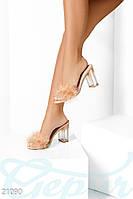 Открытые туфли-мюли Gepur 21090