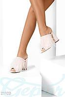 Модные туфли-мюли Gepur 21103