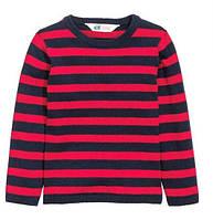 Детский вязанный джемпер H&M для мальчика, 116,140 см (4-6 лет, 8-10 лет)