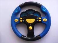"""Детский музыкальный руль """"Маленький водитель"""": 5 функций, свет + звук"""