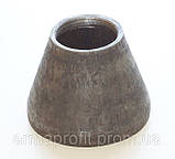 Перехід Dу50/32 сталевий концентричний 60*3-38*3 ГОСТ 17378-01, фото 2