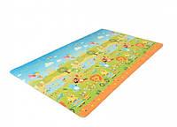Игровой коврик Alzipmat Funimal, 240х140х1,2 см