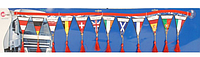 Гирлянды-флажки для грузового автомобиля, 12 шт, торговой марки AllRide, артикул: 8711252337722
