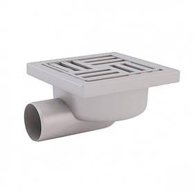 Трап гор., выпуск 50 мм с пласт. решеткой 15x15 см ANI Plast (TA5110)