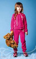 Спортивный велюровый костюм для девочки Gepur 10739