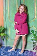 Кашемировое весеннее пальто для девочки Gepur 10977