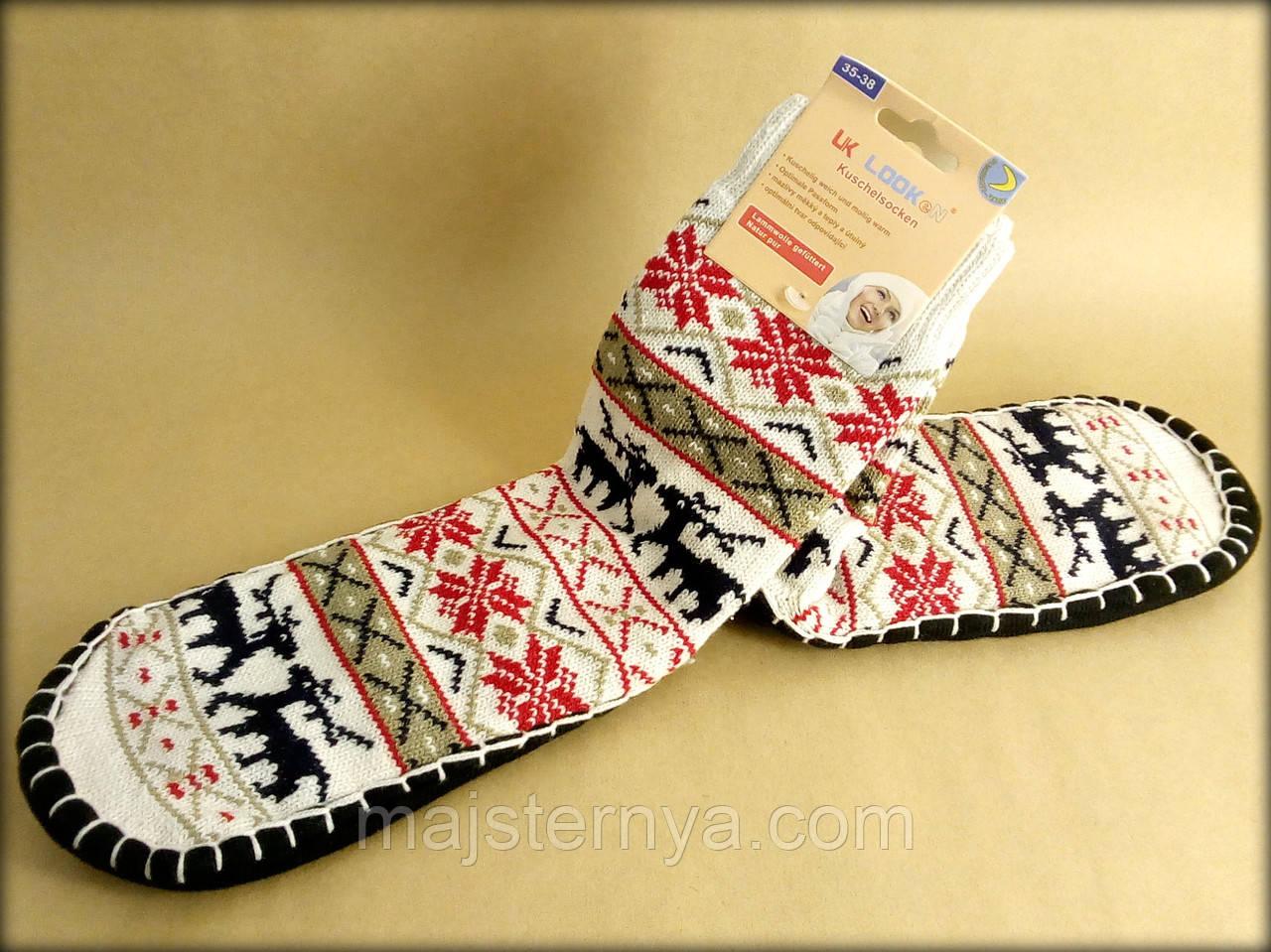 Шкарпетки - тапочки (домашнє взуття)