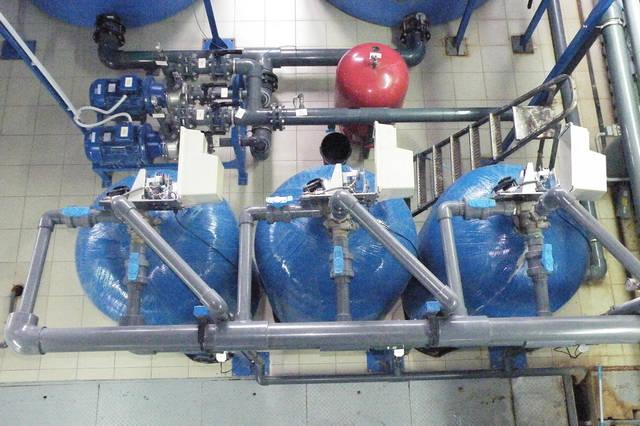 Обслуживание механической фильтрации производительностью 30 м3/ч   3672 Wave Cyber