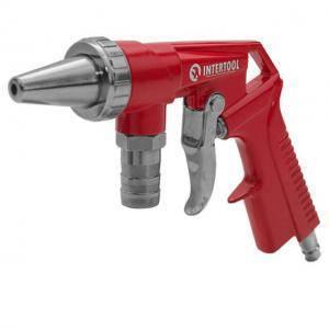 Пистолет Intertool пескоструйный пневматический со шлангом (арт. PT-0706)
