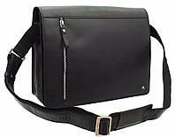 Кожаная сумка для ноутбука Visconti ML-23 Carter black