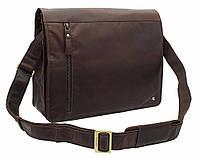 Кожаная сумка для ноутбука Visconti ML-23 Carter brown