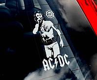Bon Scott ACDC стикер