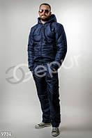 Теплый мужской костюм на синтепоне Gepur 9734